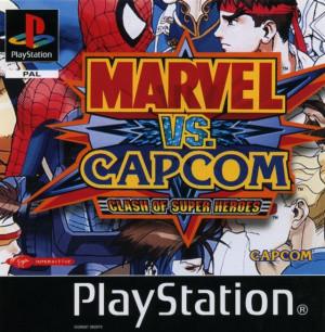 Marvel vs. Capcom : Clash of the Super Heroes sur PS1