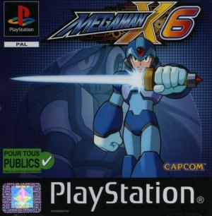 Mega Man X6 sur PS1