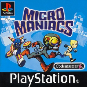 Micro Maniacs sur PS1