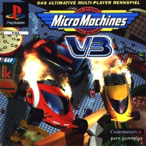 MicroMachines V3 sur PS1
