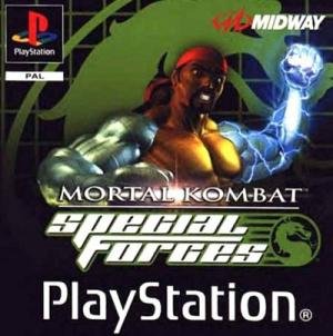 Mortal Kombat Special Forces sur PS1