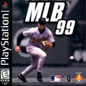 MLB 99 sur PS1
