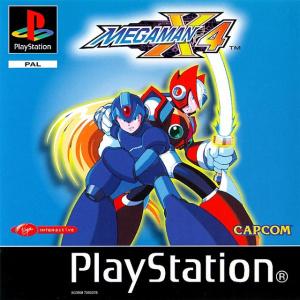 Mega Man X4 sur PS1