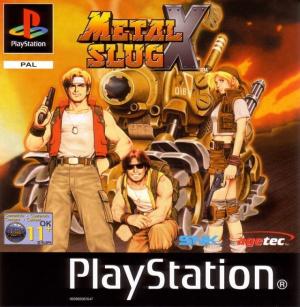 Metal Slug X sur PS1