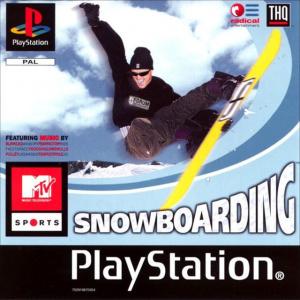 MTV Snowboarding sur PS1