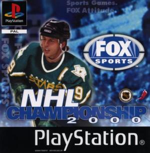 NHL Championship 2000 sur PS1