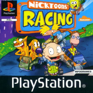 Nicktoons Racing sur PS1