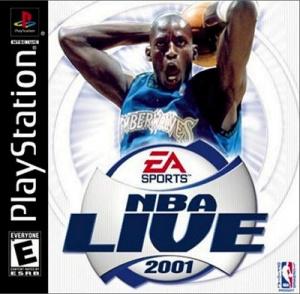 NBA Live 2001 sur PS1
