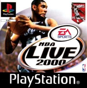 NBA Live 2000 sur PS1