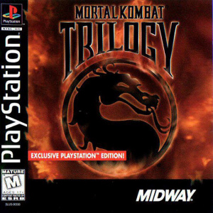 Mortal Kombat Trilogy sur PS1
