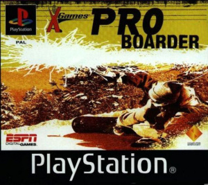 X-Games: Pro Boarder sur PS1