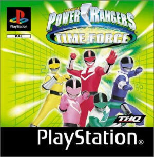 Power Rangers : La Force Du Temps sur PS1