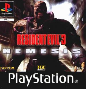 Resident Evil 3 : Nemesis sur PS1