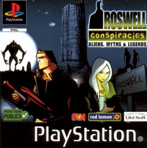 Roswell Conspiracies : Aliens, Myths & Legends sur PS1