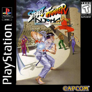 Street Fighter Alpha : Warriors' Dreams sur PS1