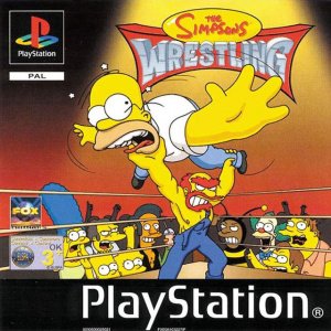 The Simpsons Wrestling sur PS1