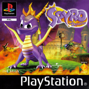 Spyro the Dragon sur PS1