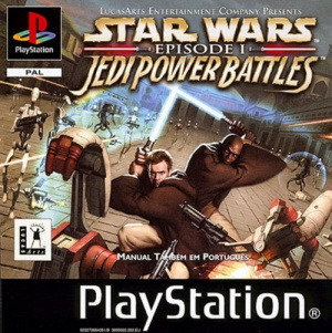 Star Wars Episode I : Jedi Power Battles sur PS1