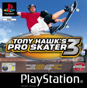 Tony Hawk's Pro Skater 3 sur PS1