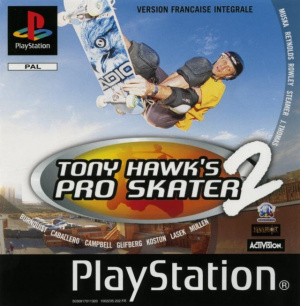 Tony Hawk's Pro Skater 2 sur PS1