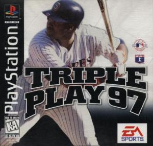 Triple Play 97 sur PS1