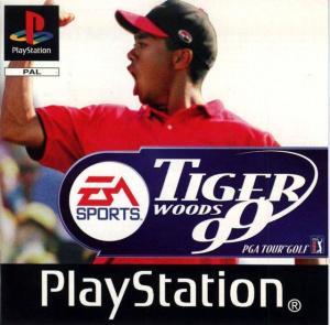 Tiger Woods 99 sur PS1