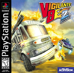 Vigilante 8 : Second Offense sur PS1
