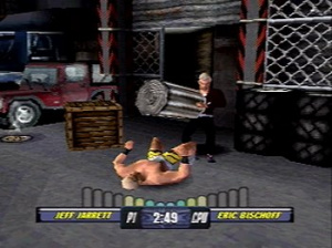 WCW Backstage Assault sur PS1