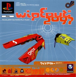 WipEout 2097 sur PS1