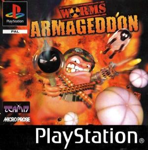 Worms Armageddon sur PS1