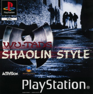 Wu-Tang Shaolin Style sur PS1