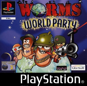 Worms World Party sur PS1