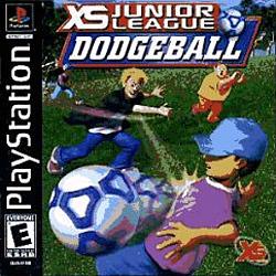 XS Junior League Dodgeball sur PS1