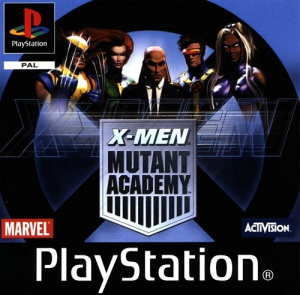 X-Men Mutant Academy sur PS1