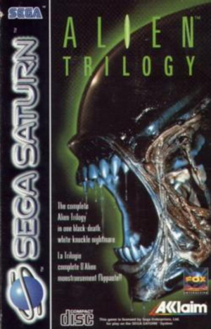 Alien Trilogy sur Saturn
