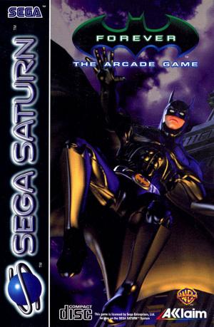 Batman Forever : The Arcade Game sur Saturn