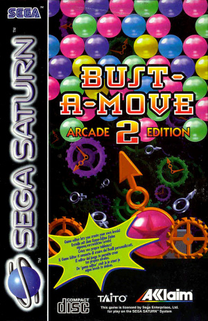 Bust-A-Move 2 Arcade Edition sur Saturn