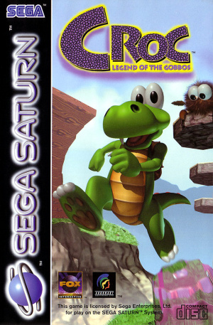 Croc : Legend of the Gobbos sur Saturn