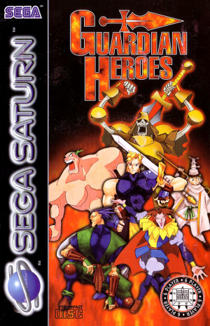 Guardian Heroes sur Saturn