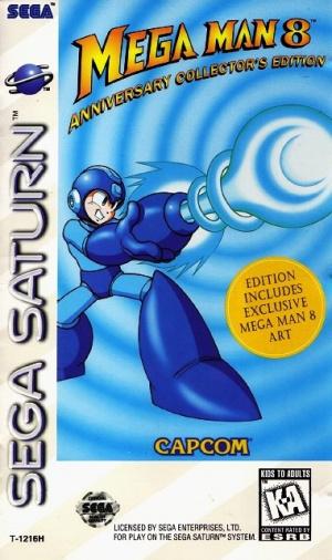 Mega Man 8 sur Saturn