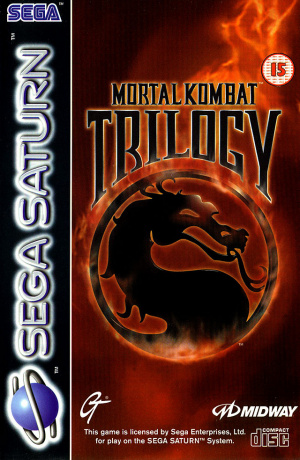 Mortal Kombat Trilogy sur Saturn