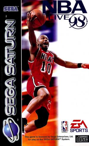 NBA Live 98 sur Saturn