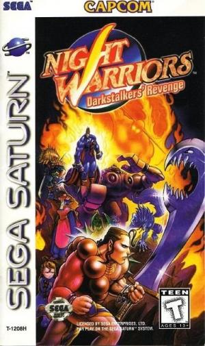 Night Warriors sur Saturn