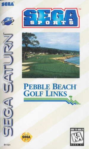 True Golf Classics : Pebble Beach Golf Links sur Saturn