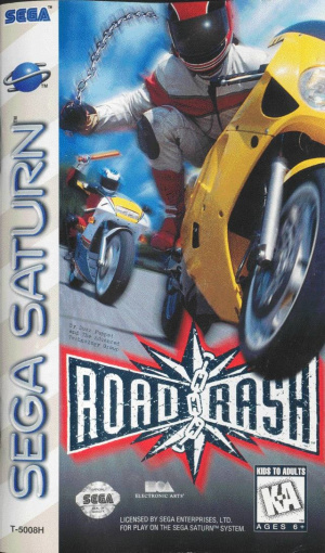 Road Rash sur Saturn