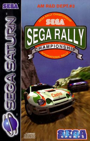 Sega Rally Championship sur Saturn
