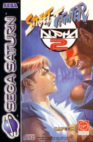 Street Fighter Alpha 2 sur Saturn