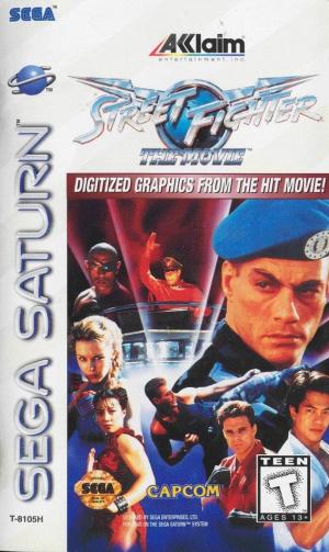 Street Fighter : The Movie sur Saturn