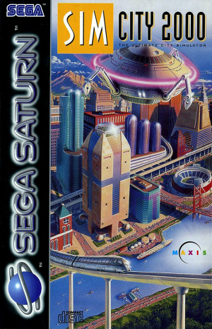 SimCity 2000 sur Saturn