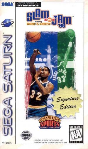 Slam'n Jam 96 sur Saturn